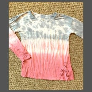 JUSTICE Girls Long Sleeve Top Size 8